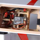 Futaba R617FS receiver setup.