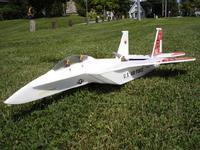 The Yardbird RC F-15 pusher jet.