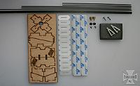 Included hardware package. Photo courtesy of YBRC.