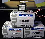 Futaba S3114 micro servos