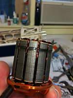 Name: IMG_0033.jpg Views: 1379 Size: 59.1 KB Description: Delaminated stators.  Motor in for repair.