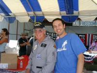 Name: DSC01617.jpg Views: 458 Size: 55.8 KB Description: That's me and Dick Rutan. He was Grand Marshal for the show.