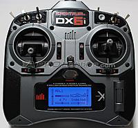 Name: BL-DX6i-DSMX_1.jpg Views: 265 Size: 116.2 KB Description: DMSX DX6i Blue Backlight