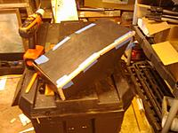 Name: IMAG0196.jpg Views: 156 Size: 168.3 KB Description: Installing the Black PVC covering.