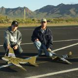 Adventure Hobbies displaying there tow plane