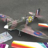 Spitfire with retracts