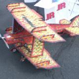 Mark Leseberg's custom airbrushed Tenser