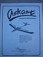 Askant RC Sailplane Kit (New In Box) - RC Groups