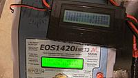 Name: chargerout.jpg Views: 73 Size: 44.3 KB Description: Charger showing huge output at 24 volts input and wattmeter showing what the battery is taking.