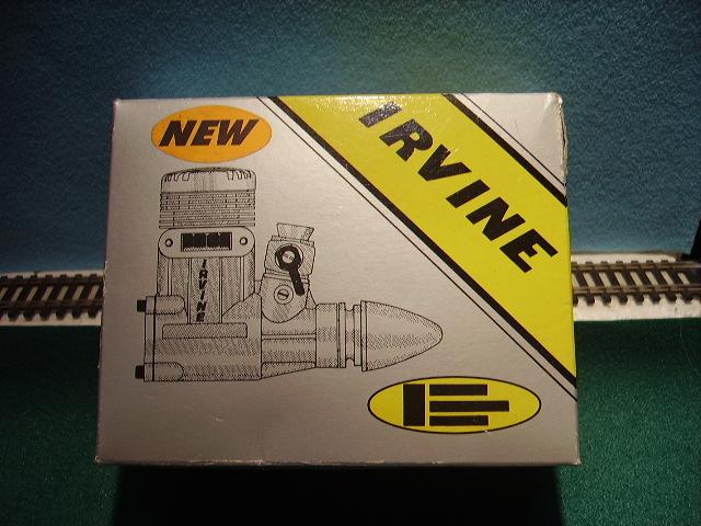 Name: Irvine%2020%20Car[1].jpg Views: 60 Size: 169.6 KB Description: NIB never fune Irvine .40 ABC engine with muffler for $45 plus shipping.