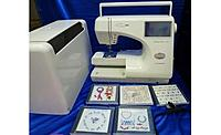 Name: 1610572-sewing-machine-janome-memory-craft-9000-0[1].jpg Views: 10 Size: 14.5 KB Description: Like new with lots of extras you can't afford at today retail prices.  Here is truly a bargain to the true person who wants a great embroidery machine.