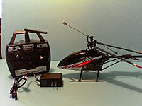 Name: Heli 002.jpg Views: 26 Size: 148.4 KB Description: Charge it up and add 6 AA batteries to the transmitter and you are ready to fly!