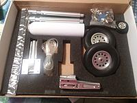 Name: spit 50cc 001.jpg Views: 9 Size: 1.54 MB Description: Every thing you need for a complete retract installation is included.