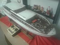 Name: New Stinson Kit & boat pics 008.jpg Views: 48 Size: 41.8 KB Description: Bow deck with lots of detail already mounted.