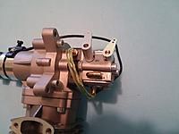 Name: Throttle arms 003.jpg Views: 3 Size: 1.35 MB Description: Here you can see in this picture how the arms pass over one-another when in stalled so that do not touch.