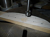 """Name: thumb-DSCN3682[1].jpg Views: 247 Size: 5.9 KB Description: It is critcal that you get a new sharp """"Thruston hole Drill Bit"""" to make a perfectly round hole with no splinters."""