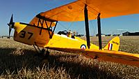 Name: tiggy.jpg Views: 14 Size: 593.0 KB Description: Dynam Tiger Moth,   good ole low key flying and reliable
