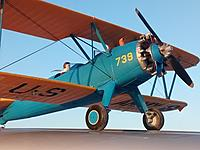 """Name: Stearman2.jpg Views: 118 Size: 926.9 KB Description: 40"""" FMS PT-17, what a sweetie to fly.  I bought her """"preflown"""" did the repairs and the detailing.  I want to add landing lights one day and I will call her done."""