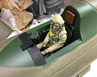 Name: IMG_2352.jpg Views: 10 Size: 310.5 KB Description: Installed pilot with some additional details, like head rest, seat, instrument panel valence, and gun sight.