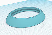 Name: cowl ring.jpg Views: 10 Size: 632.2 KB Description: Nose cowl ring in Tinkercad