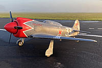 """Name: IMG_1904A.jpg Views: 36 Size: 305.8 KB Description: Yak 3 """"SteadFast"""" Conversion from  Taft Yak 11 Trainer"""