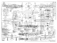 """Name: MB5 - P51 scale for RCGROUP.jpg Views: 349 Size: 1.05 MB Description: Amazing detail in this second set of drawings, and they appear to be quite accurate after comparison to photos.  They came from a man in Australia who sold under the name """"Scale Planes""""."""