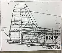 Name: IMG_7929.jpg Views: 42 Size: 767.4 KB Description: Superimposed P-51 and MB5 rudder outlines.