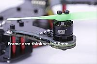 """Name: DYS X160 V2 2.jpg Views: 52 Size: 499.2 KB Description: Here's a close up of the new """"double"""" arm configuration ."""