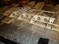 Name: DSC03949.jpg Views: 185 Size: 93.0 KB Description: Stringers laid out in the LEFT wing :)