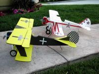 Name: P5170007.jpg Views: 235 Size: 106.9 KB Description: My 1st Fokker DVII and hanger mate Super Stearman