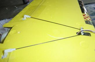 Pre- installed wing hardware