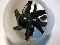 Name: 0324131840-00.jpg Views: 113 Size: 111.5 KB Description: 30 mm lathe turned ABS duct 6 blade GWS 30mm fan (trimmed down)