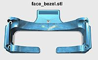 Name: face_bezel_800.jpg Views: 191 Size: 49.3 KB Description: Apply soft weatherstrip foam to all surfaces that contact the face. Install face bezel on the Front Bezel section using Qty 4 M3 x 40mm Socket Button Head Screws. Top hole requires one M3 x 14mm Button Head Screw.