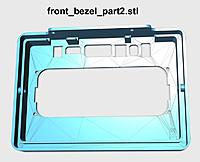 Name: front_bezel_part2_800.jpg Views: 148 Size: 60.6 KB Description: Qty 2 M3 brass insert are installed on this part on the left and right side holes.
