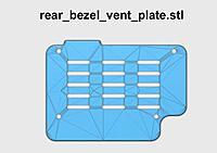 Name: rear_bezel_vent_plate_700.jpg Views: 136 Size: 39.8 KB Description: Install on rear bezel with 4 pcs M3 x 6mm Button Head Screw.