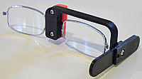 Name: focus_glasses3_800.jpg Views: 178 Size: 55.7 KB Description: Strip down the drug store reading glasses to the bare essentials. Here is what it will look like assembled.