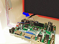 Name: LCD_cable1_800.jpg Views: 232 Size: 122.9 KB Description: LCD Panel cable routing.
