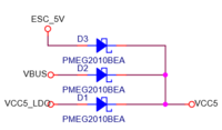 Name: 1B1EDC53-0DD8-4153-8E03-471C2AD1BCC8.png Views: 248 Size: 35.6 KB Description: Figure 1. 5V source selection circuit. Diode triplet is used to select the source with highest voltage and feed it to VCC5.