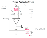 Name: 222C5ADE-EE0C-4AC0-A034-974782B89585.png Views: 899 Size: 227.1 KB Description: Figure 1. Typeical INA169 application circuit.