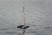 Name: DSC_8356m.jpg Views: 109 Size: 897.8 KB Description: Steerix Fusion Catamaran, launching