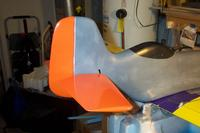 Name: CSS #12.jpg Views: 127 Size: 51.4 KB Description: Tail feathers covered, Plane balanced, Servos trimed in shop.  Time to maiden this plane before final paint scheme.