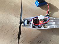 Name: 5.jpg Views: 318 Size: 612.0 KB Description: 2SBL System Right Thrust with the Eflite BL180 2300Kv Motor / Eflite 5 x 2.75 Prop and EFLU4864 A.S3X 6-Channel Receiver BL-ESC installed.