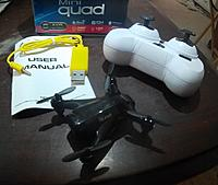 Name: x165 contents.jpg Views: 47 Size: 691.0 KB Description: Cmes with quadcopter,controller,USB charger and manual