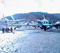 Name: Park Flying.jpg Views: 90 Size: 445.4 KB Description: Tarantula X6 Nihui U807, and my Skull Drone