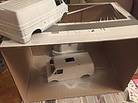 Name: 287A6A95-9C56-4CDA-B3E0-93B13DDAB87A.jpeg Views: 25 Size: 1.33 MB Description: Two Lunchbox bodies primed and ready to go!