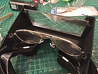 Cut the glasses and trial fitting.
