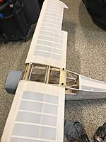Name: IMG_4192.jpg Views: 4 Size: 122.2 KB Description: 1/4 x 20 wing bolts installed, hardwood tapped and soaked with thin ca. then retapped