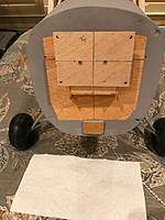 Name: IMG_4198.jpg Views: 4 Size: 111.9 KB Description: temp mounted engine mounting block so can mock up engine and cowl