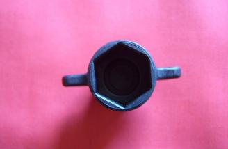 Axle nut wrench