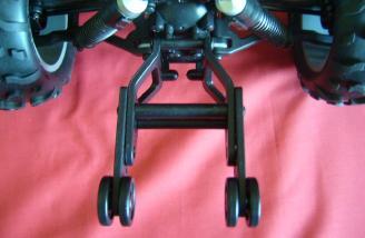 Wheelie bar top